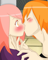 .::The Kiss::. by pyreion