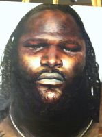 Mark Henry - Oil by therealkold