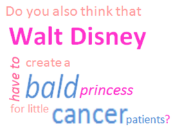 BALD Princess For Cancer by hyperster