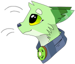 Kiwi Headshot for Kiwivulpes by CatSplat
