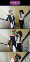 In The Stairs. - DGM by miyuki-chan8D