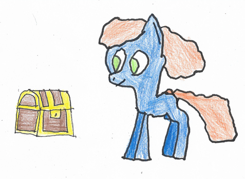 ATG Day 24 - Pony Finding Treasure by ethanland45