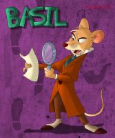 The Great Mouse Detective by CartoonSilverFox