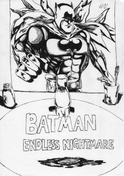 Batman's Endless Nightmare 01 cover ink by Reversi52