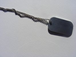 dog tag stock 5 by hatestock