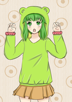 I'm a GUMI bear by eushi