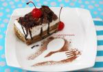 A Slice Of Yummy Tiramisu by theresahelmer