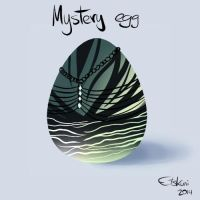 Mystery Egg Adoptable #2 CLOSED by Etskuni