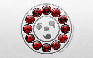 Wallpaper: Sharingan circle by lilomat