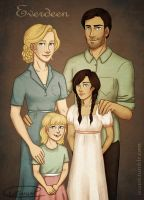 Everdeen Family Photo by Isuani