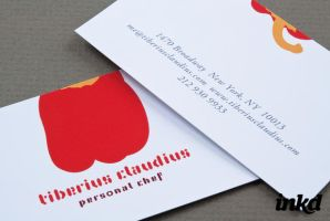 Graphic Personal Chef Business by inkddesign