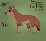 Fern official reference 2016 by shattered-bones