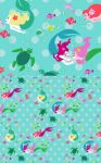Mermaid Play Fabric by aimeekitty