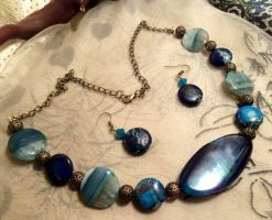 Poseidon's treasure-Necklace by Destinyfall