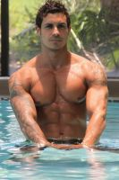 ! wet Muscled Inked 1rwnvLIS c by leesanfran