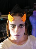 Midna Hood and Makeup by Liquidfire3