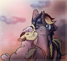 Home is wherever you are by SILK-RIBBON