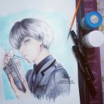 Haise (Tokyo Ghoul:re) by Aty-S-Behsam