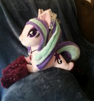 Aria Blaze MLP Plush Available by CINNAMON-STITCH