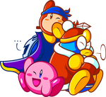 Da' Kirby Crew by JamesmanTheRegenold