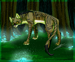 Tigerstar in the Dark Forest by yitchakandray