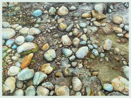 Riverbed by aakritiarts