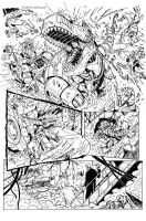 Grimlock page 08 inks by MarceloMatere