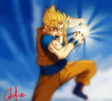 KAMEHAMEHAAAAA by francesco8657