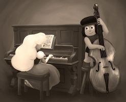 Stronger Than Ragtime by TresenellaArt