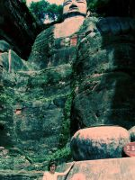 The Leshan Giant Buddha by ilovexueling