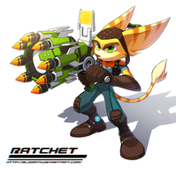 Ratchet by BloomTH
