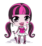 Monster High - Draculaura by Mibu-no-ookami