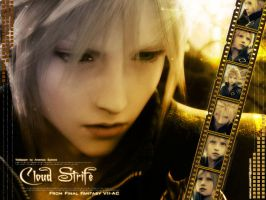 Cloud Strife... by areemus