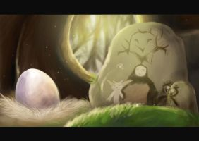 Ori and The Blind Forest by Kurareo