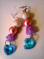 Princess Cadence Cosplay Earrings by CorterMoon