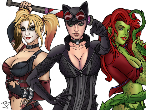 Gotham City Sirens by THE-GREAT-ULTRON