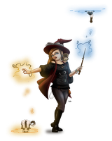 Witchsona by InkCell-Illustration