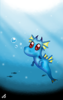 Baby Dragon by Ortew