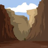 The Canyon by claralimpk