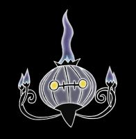 Chandelure by Polynesiangirl