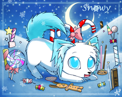 Snowy Sweet Wonderland by CaninePrince