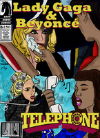 Telephone Comic Book Cover by SmileWhenDead
