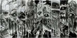 Mushroomhead - All 9 members (collage) by deathlouis