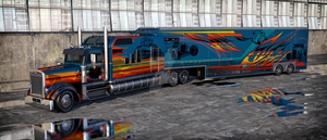 Kenworth W900 truck side by Yorzua
