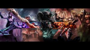 League of Legends : Pentakill by IceCrumble