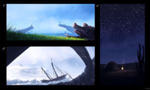 Concept shots 1 by Juhupainting