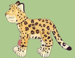 Mia in Jaguar form by do-you-sell-crisps