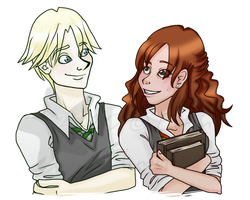 HP: Rose and Scorpius. by DearyEm