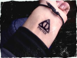 Deathly Hallows Tattoo by ripperandriy