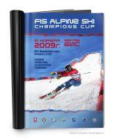 Ad pages for Fis Alpine Ski Champions Cup by Alexey-Starodumov